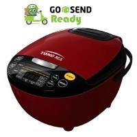 Rice Cooker YONG MA Digital 2 L YMC211 - Red / Beige