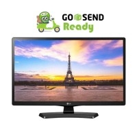"LG 24"" Inc 24 MT 48 Led TV ( Monitor+TV) USB Movie - PC VGA"