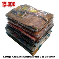 Kemeja | Hem Batik Anak Motif Kawung Soft No 1