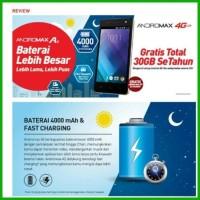 HP Smartfren 4G LTE Andromax A2 - Free Kuota Total 30GB SeTahun