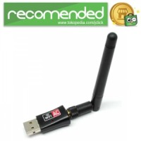 Wireless USB Adapter 802.11ac 600Mbps Realtek RTL8811 with Antenna - H