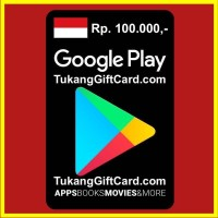 [BEST SELLER] Google Play Store Gift Card 100ribu Indonesia