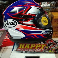 Helm full face Arai RX7X Ghost Blue size M (57-58cm) ori Japan non SNI