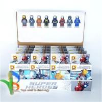 Lego Figure Minicraft Super Heroes 8pcs DLP9065 Mainan Anak