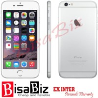 iPhone 6 (128Gb) 2nd ORIGINAL GARANSI 1BULAN GREY Bukan Refurbished