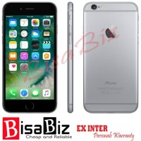 iPhone 6 (64Gb) 2nd ORIGINAL GARANSI 1BULAN GREY Bukan Refurbished