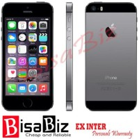 iPhone 5S (64Gb) 2nd ORIGINAL GARANSI 1BULAN GREY Bukan Refurbished