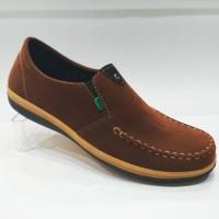 Model Terbaru sepatu santai kickers casual sepatu pria slip on slop