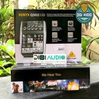 Mixer Behringer Q502USB ( Q 502 USB ) with Soundcard for Recording