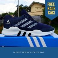NEW SEPATU KETS ADIDAS JOGGING RUNNING OLYMPIC.