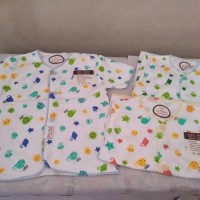 baju atasan bayi new born lengan pendek 1 lusin