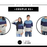 SWEATER COUPLE 01 KHUSUS RESELLER |baju rajut couple | sweater rajut