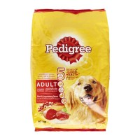 Dog food Pedigree 1.5 kg Beef & vegetables