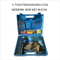 Modern M2130 / M 2130 / M-2130 13 mm Mesin Bor Tembok Set 13mm