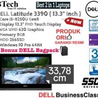 """DELL Latitude 3390 13.3"""" TOUCH Core i5-8250U Gen8/8GB/256SSD/Win10Pro"""