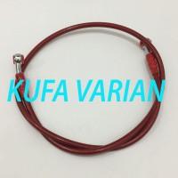 Kabel Selang Rem Warna Motor Belakang 60cm UNiversal Import