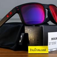 Oakley Holbrook Matte Black Positive Red Iridium Original 100%