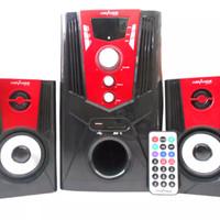 Portable Speaker Aktif Advance M680 BT Bluetooth Subwoofer