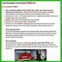 FOREDI ASLI - FOR EXTERNAL USE ONLY 100% ORIGINAL