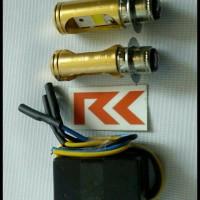 (Termurah!!) Lampu Led Motor Supra X 125 (H6 Led + Cvdc) !!!