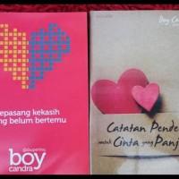 (Produk Baru!!) 1 Paket Isi 10 Novel Karya Boy Candra ..