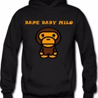 Jaket-hoodie baby milo bape