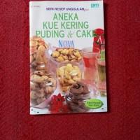 Harga Resep Makanan Minuman Aneka kue kering puding dan cake   nova | WIKIPRICE INDONESIA