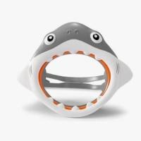 Kaca Mata Selam Age 3-8 Fun Shark Mask Kids  - Intex 55915