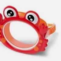 Kaca Mata Selam Age 3-8 Fun Crab Mask Kids - Intex 55915