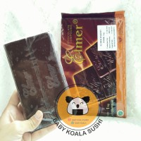 ELMER COMPOUND DARK CHOCO 330g | Coklat Blok | Chocolate Milk Block
