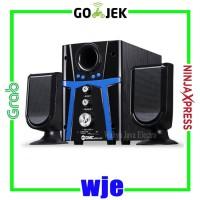 Harga multimedia speaker gmc 888d3 bluetooth cocok untuk tv dvd pc laptop | Pembandingharga.com