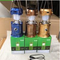Lampu Solar Zoom Camping LED / Senter / Lampu Emergency / Powerbank
