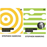 2 Buku A Brief History of Time & My Brief History Stephen Hawking