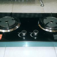 Kompor Gas Infra Red Bara 2 Tungku (Merk: AXARA)