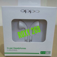 Headset Earphone Semua HP Oppo Jack 3.5mm Bisa Ori Original Handfree