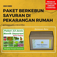 paket super 13 jenis bibit unggul/Pokcoy,cabe,Kangkung,Pepaya,dll.