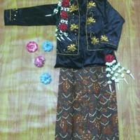 Baju Karnaval Manten Anak Adat Jawa Putri Keraton Solo Yogyakarta