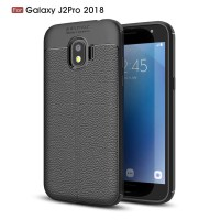 Leather Hard Soft Case Samsung J2 PRO Casing HP Kulit Silikon Softcase