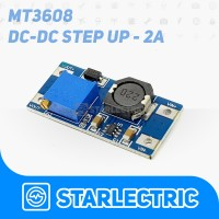 MT3608 Adjustable Step-Up Boost DC-DC Converter 2A