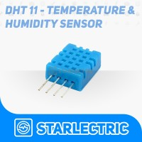 DHT11 Sensor Suhu dan Kelembapan