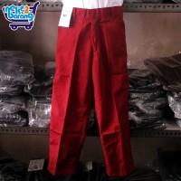Celana Panjang Seragam SD Merah (Seragam Sekolah)