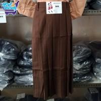 Rok Panjang Rempel SD Coklat (Seragam Pramuka) (Seragam Sekolah)