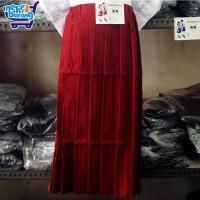 Rok Panjang Rempel Seragam SD Merah (Seragam Sekolah)