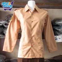 Baju Panjang Seragam Pramuka Pembina (Seragam Sekolah) (Seragam SMA)