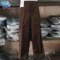 Celana Panjang Seragam SD Coklat PDL (Pake Karet) (Seragam Sekolah)