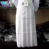 Rok Panjang Rempel SD Putih (Seragam Sekolah) (Seragam SD)