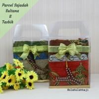 Parcel Sajadah Sultana/Parcel Lebaran Sajadah/Oleh Oleh Haji Umroh