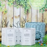 Parfum Al Rehab Silver - 6 Botol