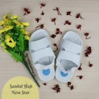 Sandal Haji Pria New Star/Sepatu Sandal Haji Umroh/Grosir Sandal Haji