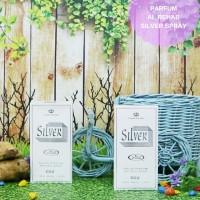 Parfum Minyak Wangi Non Alkohol Ori Arab Saudi Al Rehab Silver Spray